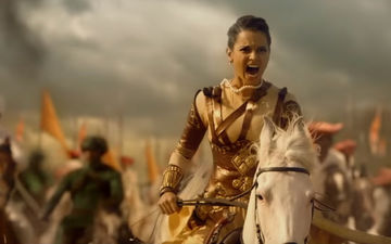 "Kangana Ranaut Roars, ""I Will Destroy Each One Of Them"" As Karni Sena Protests Against Manikarnika"
