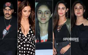 Arjun Kapoor-Malaika Arora, Ananya Panday, Krystle D'Souza, Kritika Kamra Make A Splash At Soho House
