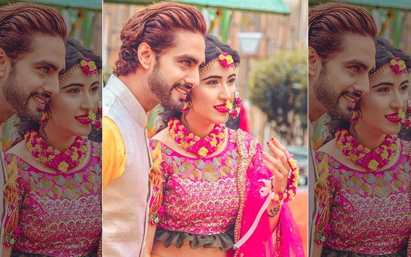 "Sheena Bajaj And Rohit Purohit Haldi Pictures: ""Lo Kar Di Zindagi Tere Naam,"" Says The Bride-To-Be"
