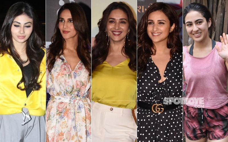 STUNNER OR BUMMER: Mouni Roy, Vaani Kapoor, Sara Ali Khan, Madhuri Dixit Or Parineeti Chopra?