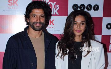 The Sky Is Pink Special Screening: Farhan Akhtar, Shibani Dandekar, Janhvi Kapoor Make A Dashing Entry Sans Priyanka Chopra And Zaira Wasim