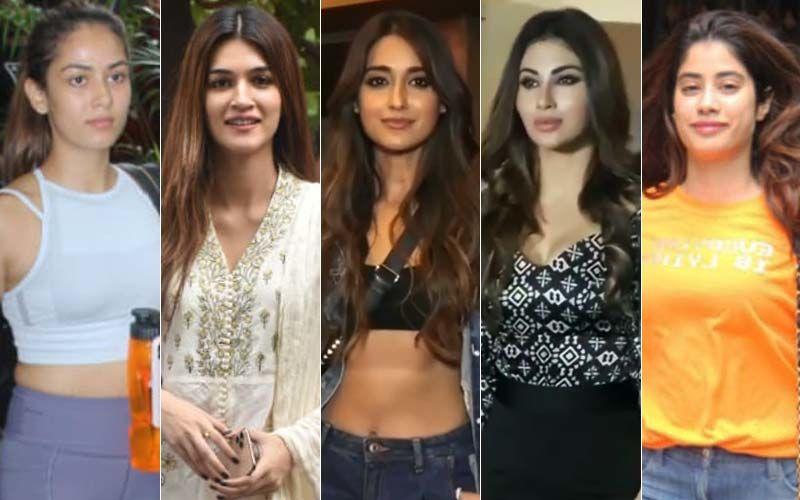 STUNNER OR BUMMER: Mira Rajput, Kriti Sanon, Ileana D'Cruz, Mouni Roy Or Janhvi Kapoor?