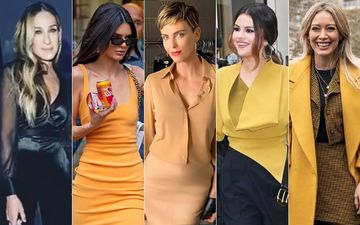 HOLLYWOOD'S HOT METER: Sarah Jessica Parker, Kendall Jenner, Charlize Theron, Selena Gomez Or Hilary Duff?