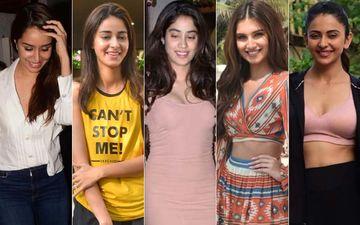 STUNNER OR BUMMER: Shraddha Kapoor, Ananya Panday, Janhvi Kapoor, Tara Sutaria Or Rakul Preet Singh?