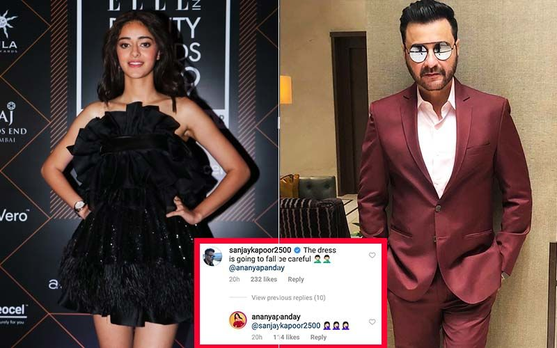 Sanjay Kapoor Criticized For His Comment on Ananya Panday's Short Dress; Netizens Call It Disturbing And Worrying