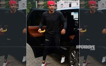 Ranbir Kapoor Spotted For His Weekly Football Session; Gets Off Holding His Evening Snack