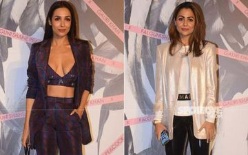 Malaika Arora's Abs Do The Talking In This Power Suit That Has A Sexy Twist; And Oh, That Red Bag Though
