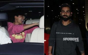 Anushka Sharma Showers Virat Kohli With Hugs And Kisses As She Receives Him At The Airport
