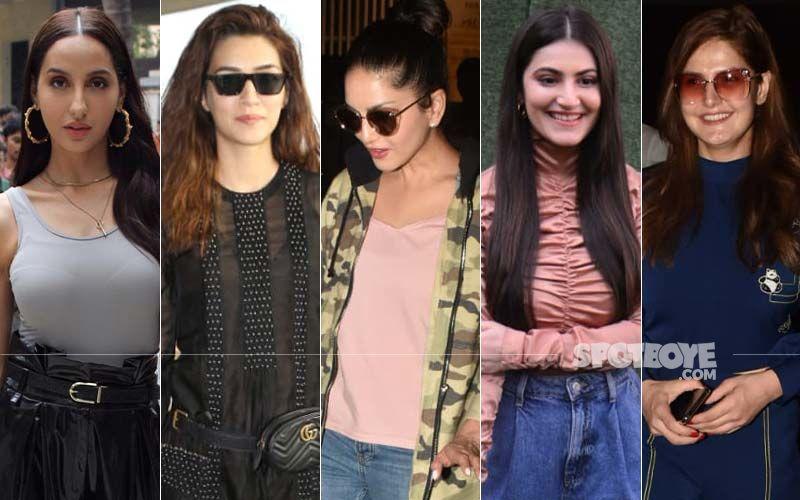 STUNNER OR BUMMER: Nora Fatehi, Kriti Sanon, Sunny Leone, Shivaleeka Oberoi Or Zareen Khan?