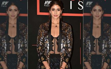 Shweta Bachchan Nanda Teams Sheer Black Top With An Embellished Jacket; Our Jaw Has Fallen To The Floor