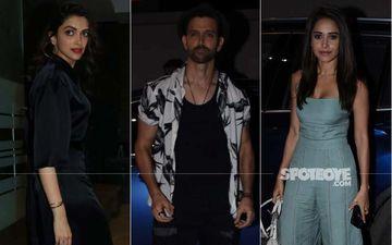 Rohini Iyer House Party: Hrithik Roshan, Deepika Padukone, Nushrat Bharucha Make A Fashion Statement At The Bash