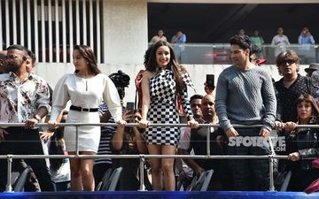 Street Dancer 3D Trailer Launch: Varun Dhawan, Shraddha Kapoor, Nora Fatehi's Street Punk; Actors Arrive By Bus