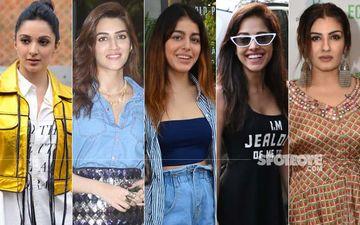 STUNNER OR BUMMER: Kiara Advani, Kriti Sanon, Alaia F, Nushrat Bharucha Or Raveena Tandon?