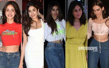 STUNNER OR BUMMER: Ananya Panday, Janhvi Kapoor, Mouni Roy, Kareena Kapoor Khan Or Mandana Karimi?