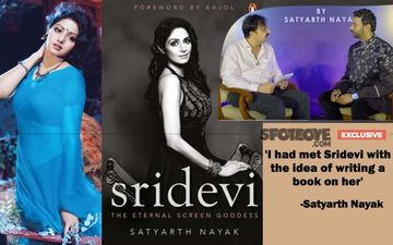 'Sridevi's ENTIRE JOURNEY Is In My Book': Author Satyarth Nayak Gets Candid About India's First Female Superstar- EXCLUSIVE VIDEO INTERVIEW