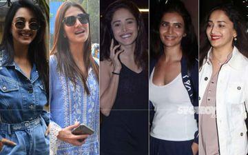 STUNNER OR BUMMER: Kiara Advani, Vaani Kapoor, Nushrat Bharucha, Karishma Tanna Or Madhuri Dixit?