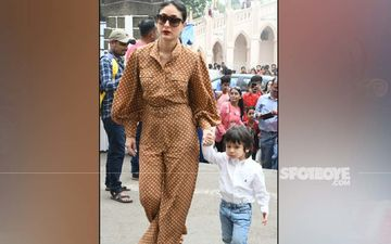 Christmas 2019: Kareena Kapoor Khan And Taimur Mark Their Yearly Presence At Mt Mary Church