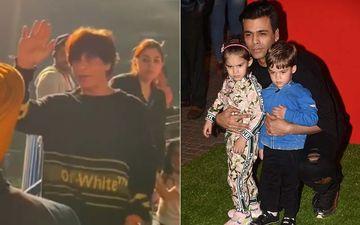 Shah Rukh Khan, Karan Johar Take Their LOs AbRam And Yash To Jio Wonderland