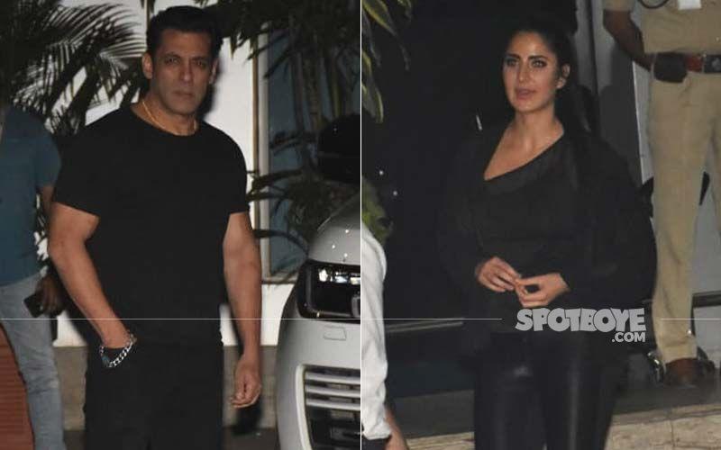 Salman Khan-Katrina Kaif Twin In Black As They Return From Bangladesh