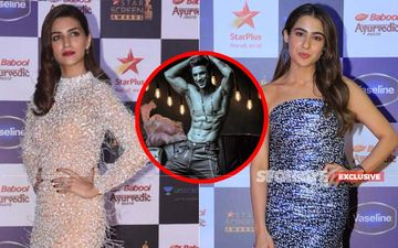 STAR Screen Awards 2019: No Awkwardness! Sushant Singh Rajput's Exes, Kriti Sanon And Sara Ali Khan Groove Together On Hrithik Roshan's Ghungroo- EXCLUSIVE