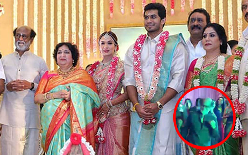 Rajinikanth Can't Stop Dancing As Daughter Soundarya Weds Actor Vishagan Vanangamudi- Watch Video