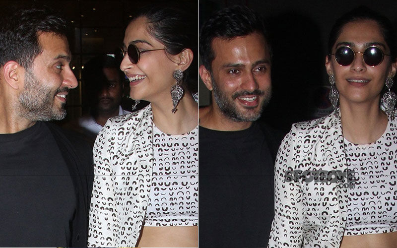 Sonam Kapoor And Anand Ahuja's Monochromatic Couple Fashion Is No Coincidence!