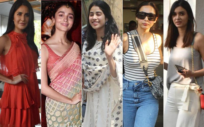 STUNNER OR BUMMER: Katrina Kaif, Alia Bhatt, Janhvi Kapoor, Malaika Arora Or Diana Penty?