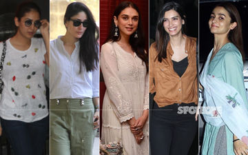 STUNNER OR BUMMER: Mira Rajput, Kareena Kapoor Khan, Aditi Rao Hydari, Diana Penty Or Alia Bhatt?