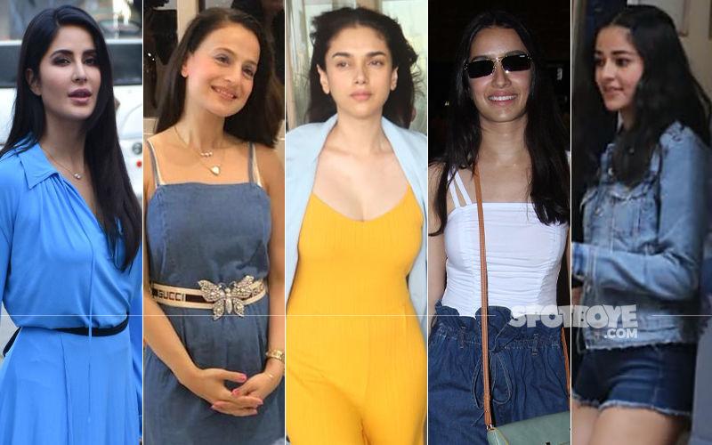 STUNNER OR BUMMER: Katrina Kaif, Ameesha Patel, Aditi Rao Hydari, Shraddha Kapoor Or Ananya Panday?