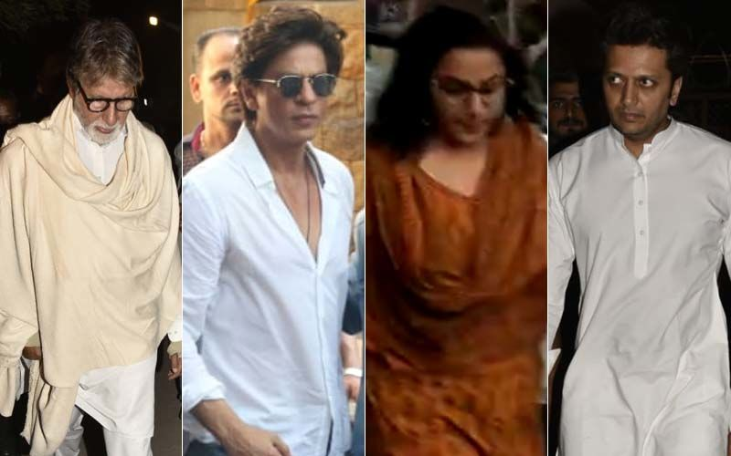 Adieu Veeru Devgan: Amitabh Bachchan, Shah Rukh Khan, Vidya Balan, Riteish Deshmukh Mourn Ajay-Kajol's Loss