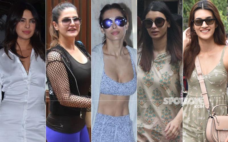 STUNNER OR BUMMER: Priyanka Chopra, Zareen Khan, Malaika Arora, Diana Penty or Kriti Sanon?