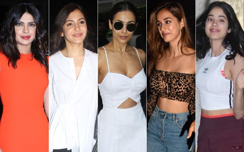 STUNNER OR BUMMER: Priyanka Chopra, Anushka Sharma, Malaika Arora, Disha Patani Or Janhvi Kapoor?