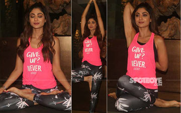 Ahead Of International Yoga Day, Shilpa Shetty Stuns Everyone With Complex Yoga Poses