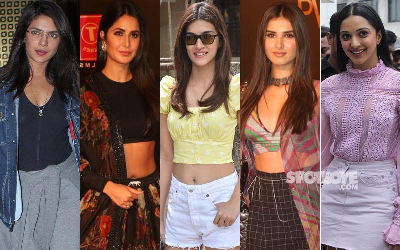 STUNNER OR BUMMER: Priyanka Chopra, Katrina Kaif, Kriti Sanon, Tara Sutaria Or Kiara Advani?