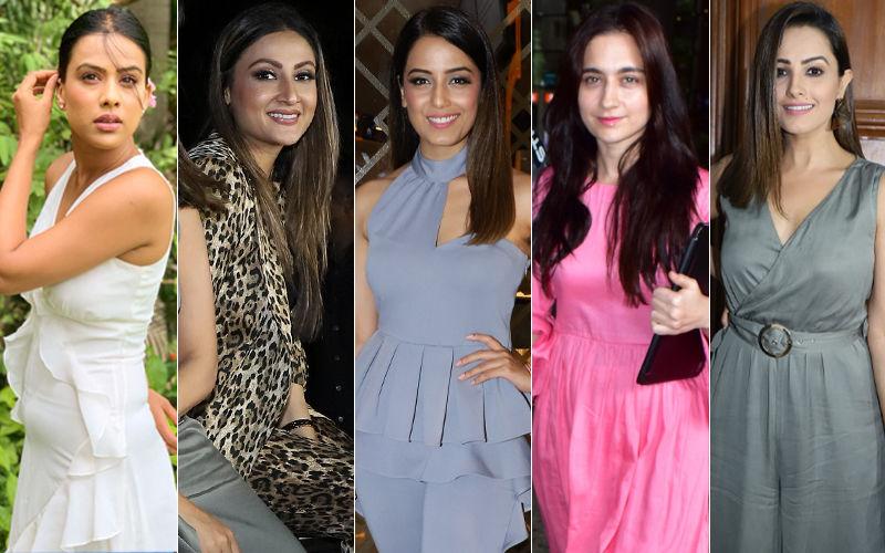 BEST DRESSED & WORST DRESSED Of The Week: Nia Sharma, Urvashi Dholakia, Srishty Rode, Sanjeeda Shaikh Or Anita Hassanandani?