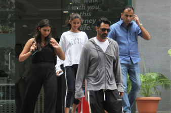Arjun Rampal And Gabriella Demetriades Blessed With A Baby Boy: New Daddy Spotted Leaving Hinduja Healthcare With His Daughters