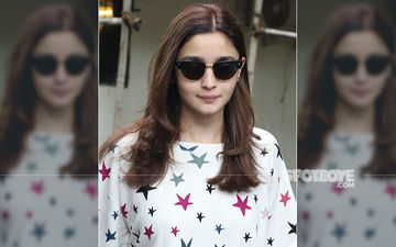 Alia Bhatt Makes A 'Starry' Spotting Outside A Salon- SEE PICTURES HERE