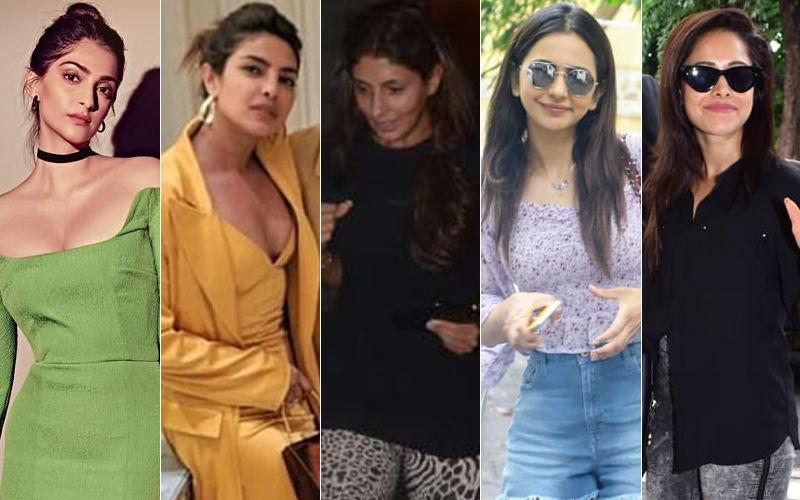 STUNNER OR BUMMER: Sonam Kapoor, Priyanka Chopra, Shweta Bachchan Nanda, Rakul Preet Singh Or Nushrat Bharucha?
