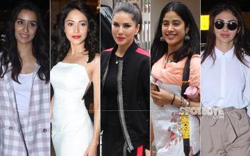 STUNNER OR BUMMER: Shraddha Kapoor, Nushrat Bharucha, Sunny Leone, Janhvi Kapoor Or Mouni Roy?