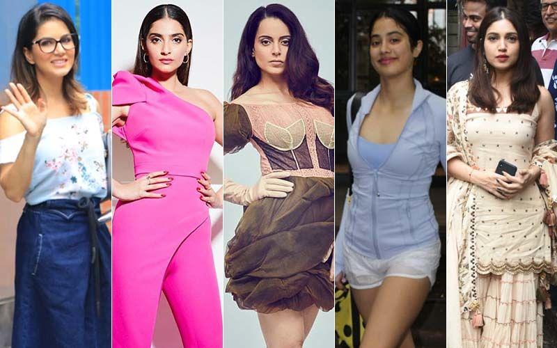 STUNNER OR BUMMER: Sunny Leone, Sonam Kapoor, Kangana Ranaut, Janhvi Kapoor Or Bhumi Pednekar?