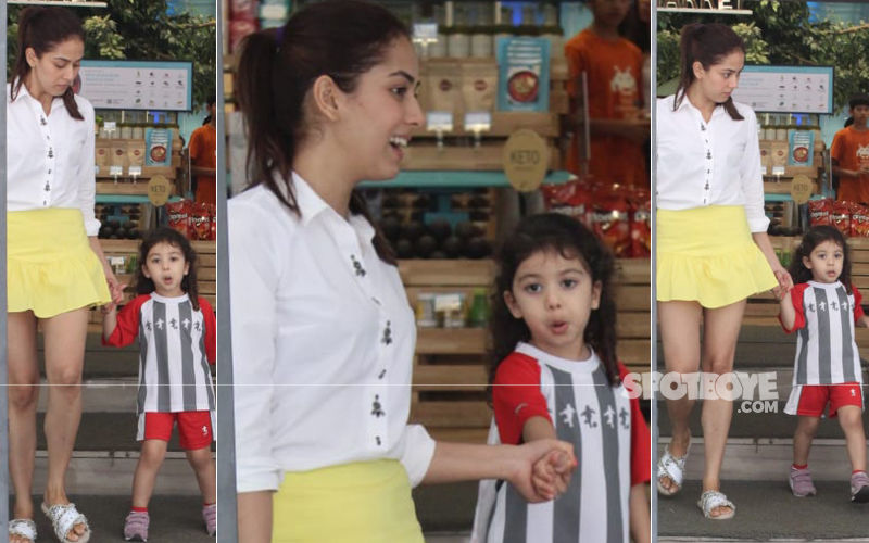 Mira Rajput And Misha Make For A Stylish Mother-Daughter Duo As They Step Out In The City