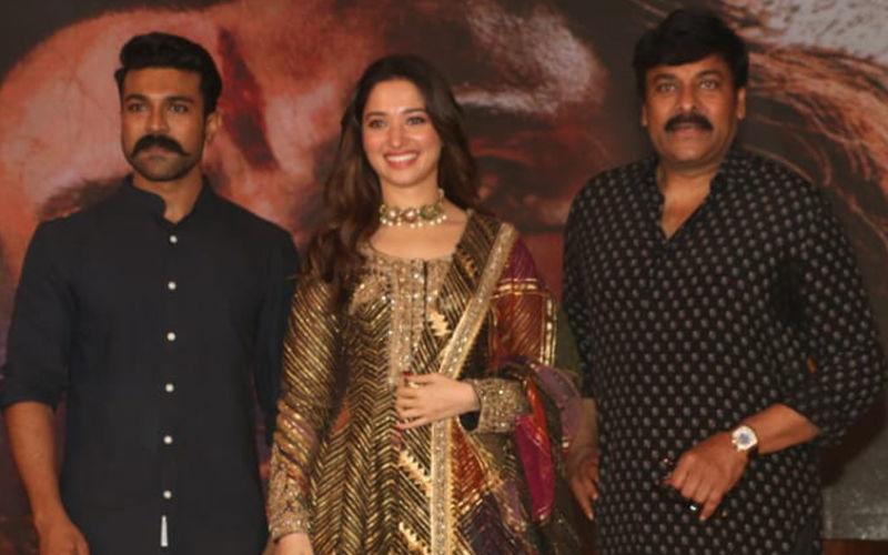 Sye Raa Narasimha Reddy Teaser Launch: Chiranjeevi, Tamannaah Bhatia And Ram Charan Make For An Awesome Trio!