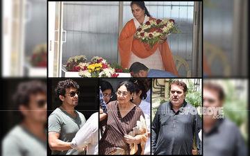Khayyam Passes Away: Poonam Dhillon, Sonu Nigam, Gulzar, Raza Murad Attend Funeral, Pay Their Last Respects