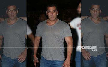 Salman Khan Back From Jaipur; Why So Angry Though?