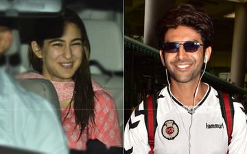 Ahem, Ahem! Sara Ali Khan Comes To Receive Her Rumoured Beau Kartik Aaryan At The Mumbai Airport