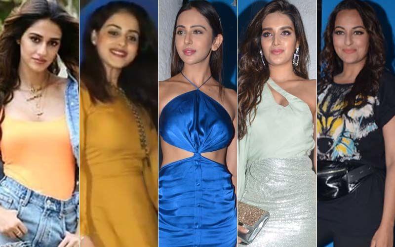 STUNNER OR BUMMER: Disha Patani, Genelia Deshmukh, Rakul Preet Singh, Niddhi Agerwal Or Sonakshi Sinha?