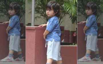 Taimur Looks Cute As A Button As He Gets Himself Some Playtime