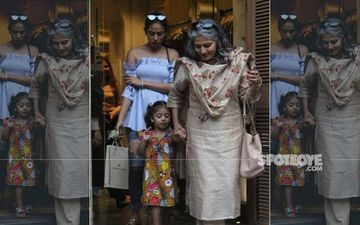 Mira Rajput, Her Mom And Daughter Misha Kapoor Spend The Day Shopping; Did They Pick Out A Gift For B'day Girl, Misha?