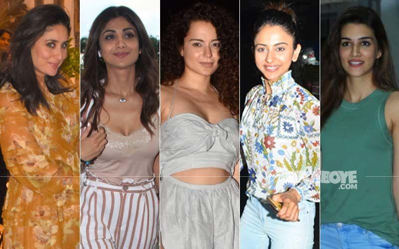 STUNNER OR BUMMER: Kareena Kapoor Khan, Shilpa Shetty, Kangana Ranaut, Rakul Preet Singh Or Kriti Sanon?