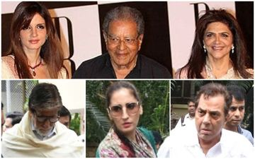 Hrithik Roshan's Grandfather J Om Prakash Passes Away: Amitabh Bachchan, Dharamendra Pay Respect To The Filmmaker